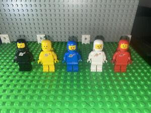 Vintage Black Spaceman 6985 6891 6971 6702 6928 Classic Space LEGO Minifigure
