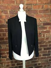 George Black Waist Length Blazer - Size 14 - Smart Office Business Professional
