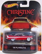 HOT WHEELS RETRO CHRISTINE 1958 PLYMOUTH FURY REAL RIDERS