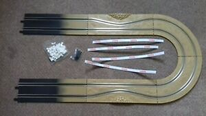 CARRERA GO!!!   ORIGINAL 6 PIECE RALLY TRACK STRAIGHTS, CURVES, BARRIERS + CLIPS