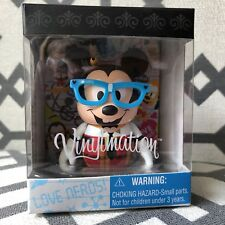 "Disney Vinylmation 3"" - MICKEY MOUSE - NERDS ROCK - Sealed - NEW - NIB -"