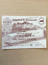 Paignton. &. Dartmouth. Steam. Railway. Devon. Belle,