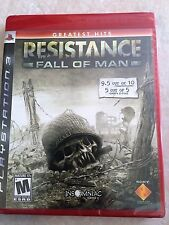 Resistance: Fall of Man GH (Sony PlayStation 3, 2006) USED SEALED