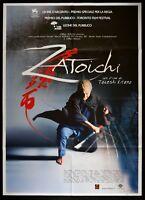 M178 Manifesto 2F Zatoichi Takeshi Kitano, Jidaigeki, Asano, Emoto, Japan,