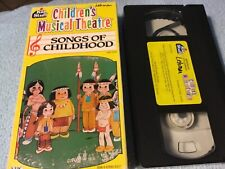 Children's Musical Theatre-Songs Of Childhood VHS
