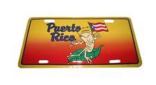"Puerto Rico 6""x12"" Aluminum License Plate Tag"