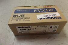 Panasonic AC Servo Motor MAMA04211A 120V 3.1 A A Amp 0.4 KW 5000 R/MIN New