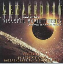CD album ARMAGEDDON and other DISASTER MOVIE THEMES - TWISTER TITANIC