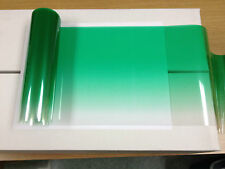 """SOLAR NON REFLECTIVE GREEN COLOR TINT STRIPS 8"""" X 6 FT WITH D,I,Y, KIT"""