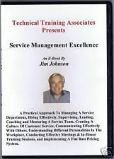 SERVICE MANAGEMENT EXCELLENCE  E-Book on CD