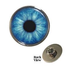Blue Iris Eye Pin Badge optician optical baby eyes Brand New