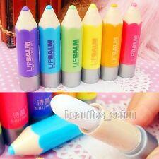 1Pc Candy Color Clear Makeup Lip Balm Gloss Stick Pencil Lipstick (Random Color)