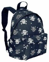 Trespass Black & Grey Skulls Boys Backpack - Gym Bag - New