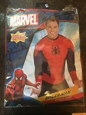 Spider-Man Marvel Muscle Shirt Halloween Costume Adult Standard Size Men's NEW