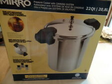 New MIRRO Aluminum PRESSURE COOKER & Canner, 22 Quart - 92122