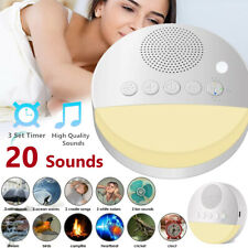 White Noise Machine for Sleeping 20 Sounds Sleep Therapy Sound Maker Kids Adults
