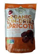 Organic Sun Dried Apricots Sunny Fruit Superfood Gluten Free Nut free 1.13kg
