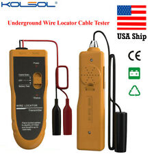 Underground Wire Locator Cable Tester With Earphone Locate Wires Usa Shipping