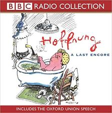 Hoffnung: A Last Encore (includes the Oxford Union Speech) - Audio CD