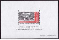 ANDORRA (fr.) ** Mi.-Nr. Block 1 - Nationale Briefmarkenausstellung