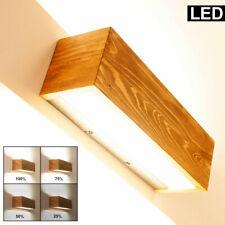 LED Holz Wand Strahler Lampe Wohn Zimmer Beleuchtung dimmbar Leuchte UP DOWN