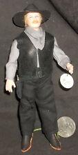 1:12 Miniature Doll Male Man White Cowboy Western 0012 Cindy's Dollhouse