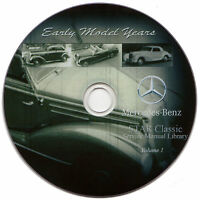 Mercedes Benz STAR Classic Service Manual Library Vol.1 170, 220, 300 W136 W189