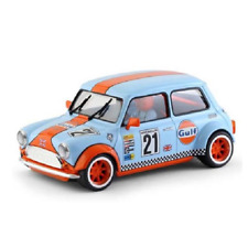 BRM – 1/24 Scale – Mini Cooper Gulf Edition #21 Slot Car