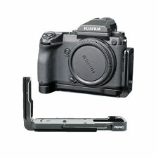 PEIPRO quick Release L-plate bracket camera Hand Grip for Fujifilm GFX50S Camera