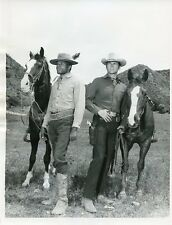 DON MURRAY OTIS YOUNG WITH HORSES THE OUTCASTS ORIGINAL 1968 ABC TV PHOTO