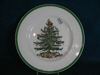 "Spode Christmas Tree 10 3/4"" Dinner Plate(s) Made in England"
