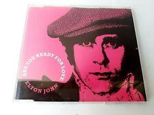 Elton John Are You Ready For Love CD Single Enhanced 2003 Brand New