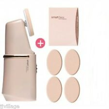 Smart Face Auto Foundation Set vibrating machine base makeup puffs