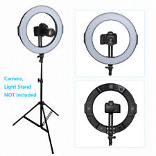 "18"" 288 Beads Bi-Color Dimmable Smd Halo Photo Led Ring Light Kit,5600K, Cri 9"
