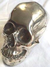 Skull Bronze with Nickel Plated Freak Evil