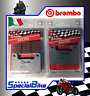 SUZUKI GSX R 600 2006 > 2010 K6 BREMBO SC SINTERED BRAKE PADS 2 SETS RACING