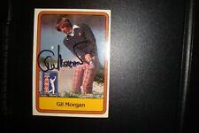 GIL MORGAN AUTOGRAPHED CARD PGA TOUR