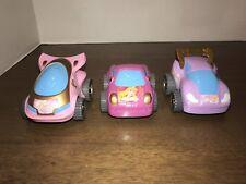 Disney Push Princess Car lot Belle, Aurora, Cinderella (S6)$