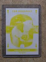 08-09 GTC Top Prospect Rookie RC Printing Proof Yellow NIKITA FILATOV /25