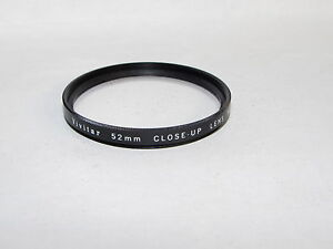 Used Vivitar Close - Up Macro Lens No 2 52mm lens Filter Made in Japan O40850