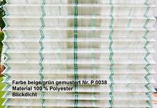 Plissee 55 x 90 nach Maß vor die Scheibe mit Griff oben und unten Farbe P 0038