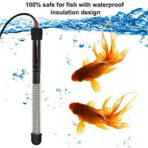 New 50W 100W 200W 300W 500W Aquarium Heater Submersible Fish Tank Adjustable