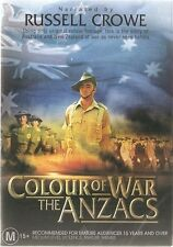 Colour of War - the ANZACS - Narrated by Russell Crowe.