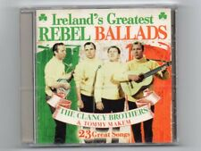 THE CLANCY BROTHERS & TOMMY MAKEM - Ireland's Greatest REBEL BALLADS - CD