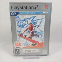 SSX 3 - Sony Playstation 2 PS2 - 2004 - Platinum - No Manual