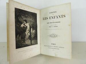 HANS CHRISTIAN ANDERSEN Contes pour les enfants 12 Lithos DERANCOURT 1848