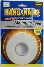 Hard As Nails Heavy Duty Double Sided Mounting Tape INDOOR -0909