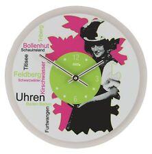 AMS -schwarzwald 30cm- 9967 Horloge murale de style contemporain avec