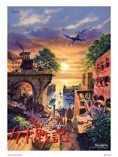 Tales From Earthsea Studio Ghibli Poster Art Print
