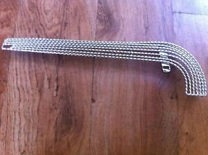 """7-Layer SQUARE TWISTED ChainGuard Chrome for 20"""" Bikes Lowrider Cruiser New!"""